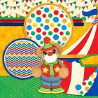 TEAR BEAR CIRCUS 2 Premade Scrapbook Pages EZ Layout 879