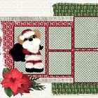 TEAR BEAR CHRISTMAS 820 Double Page Scrapbook Layouts