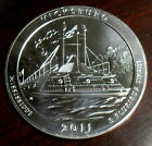 2011 5 oz Silver ATB Vicksburg Uncirculated America the Beautiful Coin