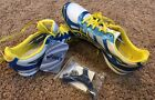 Asics Womens Hyper Rocketgirl 6 Yellow blue Running Shoes 7 1 2 Nwob