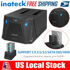 Inateck USB 30 Dual Bay Hard Drive Docking Station With Offline Clone Function