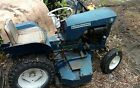 Allis Chalmers B 1 Running B1 vintage tractor pulling tractor riding lawnmower
