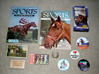 Horse Racing Collection Kentucky Derby Secretariat Swaps Buttons Tickets +