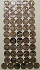 1999-2009 State Quarters Clad Proof - Complete 50 Coins  & DC Territories set