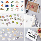 45 Pcs lot Cartoon Stickers Envelope Seal DIY Diary Album Stick Label + Gift Box