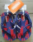 NWT Gymboree Lobster Flip Flops 5 6 Sunny Day Swim Toddler Red Navy Boys shoes