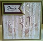 Stampin Up Woodland Textured Textured Impressions Embossing Folder  New