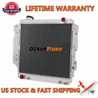 3 Row Aluminum Radiator For Jeep Wrangler YJ 24 25V4 40 42 V6 1987 2006
