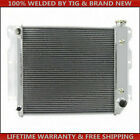 3Row Aluminum Radiator For Jeep Wrangler 87 95 YJ 97 02 TJ Chevy V8 Engine