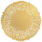 GOLD FOIL Paper Doilies  4 6 8 10 12  Gold Charger Gold Doily FREE SHIP