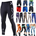 Mens Sports Gym Compression Under Base Layer Shorts Long Pants Athletic Skin