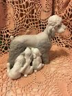 Lladro 1258 Mother with Pups Retired Mint! No Box! Over 35 Years Old Matte L@@K!