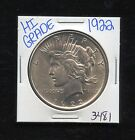 1922 SILVER PEACE DOLLAR COIN 3481 FREE SHIPPING RARE ESTATE HIGH GRADE