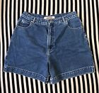 Vintage 90s Clothing High Sierra Womens High Waisted Mom Jean Shorts Size 16