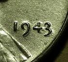 1943 P  LINCOLN WHEAT STEEL PENNY #W25888