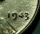 1943 P  LINCOLN WHEAT STEEL PENNY #W25891