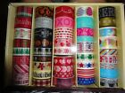 Recollections Box SEASONAL HOLIDAY PLANNER WASHI TAPE CRAFTING TAPE 45 Rolls