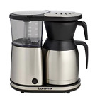 Coffee Brewer Stainless Steel Thermal Carafe Kitchen Drip Cups Ground Black New