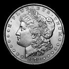 1878 P 7TF ~**ABOUT UNC AU**~ Silver Morgan Dollar Rare US Old Antique Coin #M14