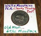 White Mts. Mountains New Hampshire Clark's Trading Post Bear Old Man Token