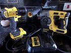 DEWALT DCH273 Brushless 18V XR 3 Mode SDS Hammer Drill Bundle