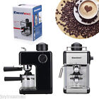 Professional Coffee Maker Machine Espresso Cappuccino 4 Cup 3.5 Bar Stainless US