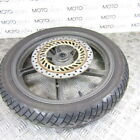 Honda CBF 250 07 OEM front wheel with great tyre & disc rotor