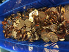 CANADIAN PENNY HOARD **17+ POUNDS OF CANADIAN PENNYS - NO LONGER MINTED**