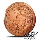 ERROR-FREEDOM GIRL-SBSS-DOUBLE OBVERSE - 1 OZ- .999 PURE COPPER COIN-BU ROUND!