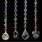 Feng Shui Chakra chain Rainbow Prisms Crystal Window Decorations Suncatchers