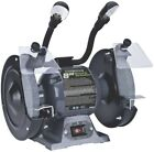 Genesis Bench Grinder 8 in. With Lights Grinding Sharpening Wheels 3550RPM