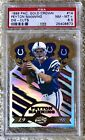 1998 PACIFIC GOLD CROWN DIE CUT PEYTON MANNING RC PSA 8.5 ONLY 1 HIGHER NO 10'S