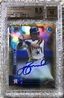 2016 BOWMAN CHROME GOLD REF AUTO 50 JEFF BAGWELL BGS 9.5 10 CARDREGISTRY POP 2