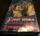 2005 Rittenhouse WNBA Basketball Trading Cards 40 packs New Sealed in Box
