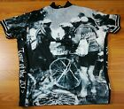 Rare Revi Tour of the 20s Old time Cyclist Pic Cycling Jersey XXL
