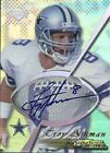 1998 COLLECTORS EDGE TROY AIKMAN AUTO CARD # 50