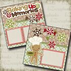 BAKING UP MEMORIES 2 Premade Scrapbook Pages EZ Layout 2165