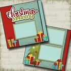 CHRISTMAS MORNING 2 Premade Scrapbook Pages EZ Layout 2166