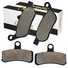 FRONT REAR BRAKE PADS FIT HARLEY DAVIDSON FLSTC HERITAGE SOFTAIL CLASSIC 2008-14