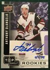 2017 Upper Deck National Top Shelf Rookies Autograph Anthony DeAngelo # 75