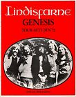 GENESIS 1972 FOXTROT TOUR U.K. CONCERT PROGRAM BOOK / EXCELLENT 2 NEAR MINT