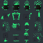 16Style DIY Luminous Glow In The Dark Removable Light Switch Wall Sticker Decal