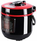 8-in-1 Electric Pressure Cooker 6 Quart/1000W with Cookboo...