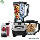 Kitchen Blender System with Food Processor and Single Serve Cups 1200W