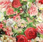 Anna Griffin 3D FAVORITE FLOWERS Rose Stickers Die Cuts Rose Embellishments