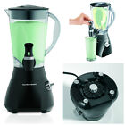 Smoothie Blender Machine Fresh Fruits Drinks Shaker Mixer Jar W Dispenser Black