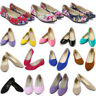 Women Ballerina Ballet Dolly Pump Flats Loafers Comfy Ladies Slip On Boat Shoes