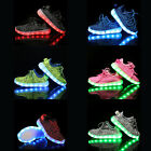 Children Boys Girls Luminous Sneakers Running shoes Led Light Up Shoes US Shop