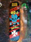 DUANE PETERS PUNK ROCK SKATE PERSONAL PPS DECK HAND PAINTED ONE OF A KIND 2008