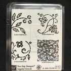 Stampin Up Stamp Set Stippled Stencils Two Step Stamping Unmounted Uncut